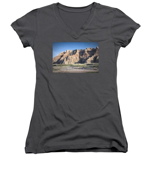 Badlands Women's V-Neck (Athletic Fit)