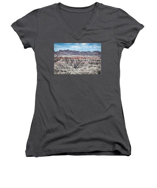 Badlands National Park Vista Women's V-Neck