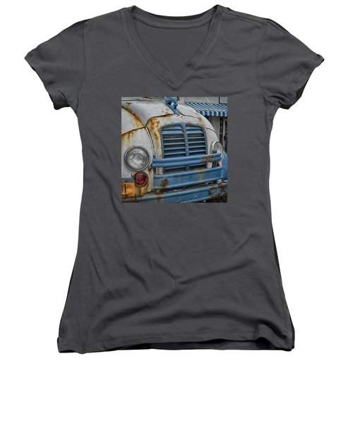 Badly Bruised Divco Women's V-Neck