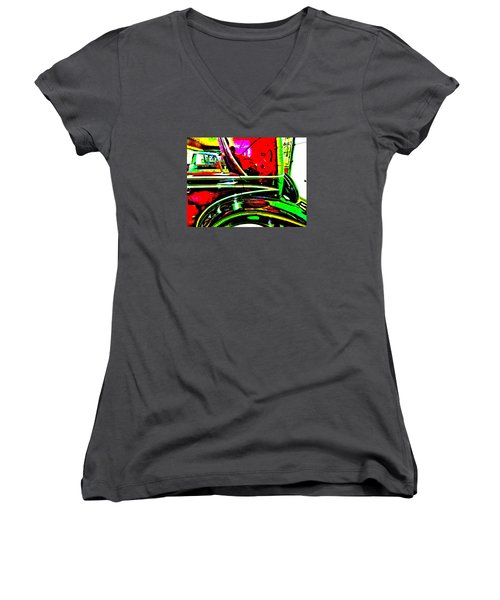 Bahre Car Show II 26 Women's V-Neck (Athletic Fit)