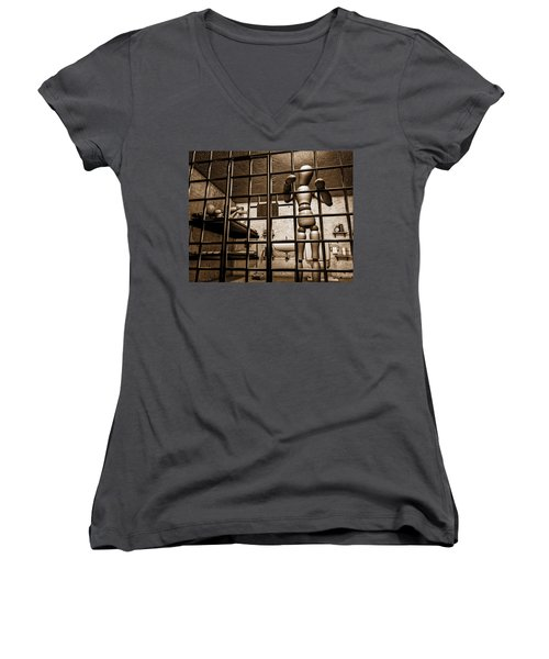 Bail Denied  Women's V-Neck T-Shirt