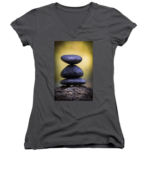 Women's V-Neck featuring the photograph Balance by Dale Kincaid