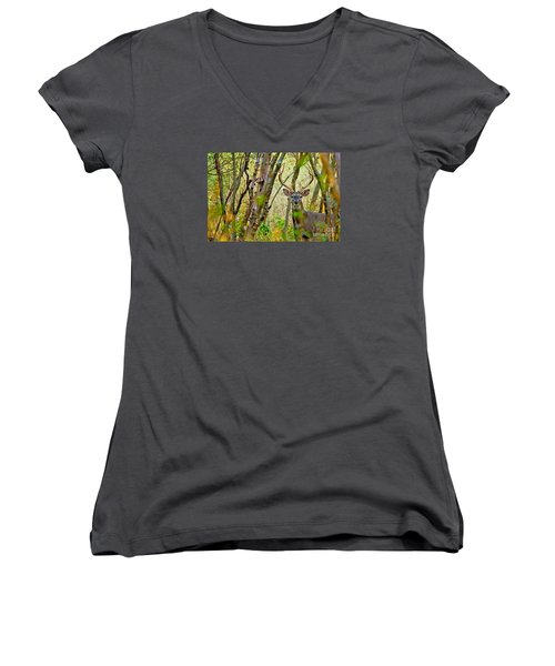Bambi's Father Women's V-Neck