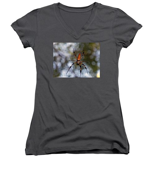 Banana Spider 2 Women's V-Neck T-Shirt