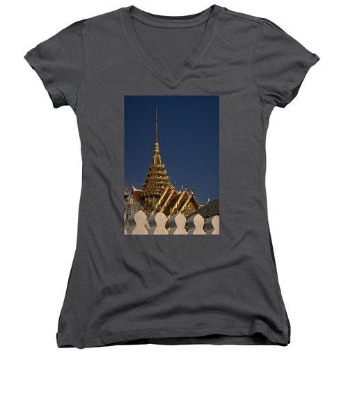 Bangkok Grand Palace Women's V-Neck