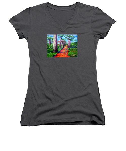 Baobab Women's V-Neck T-Shirt