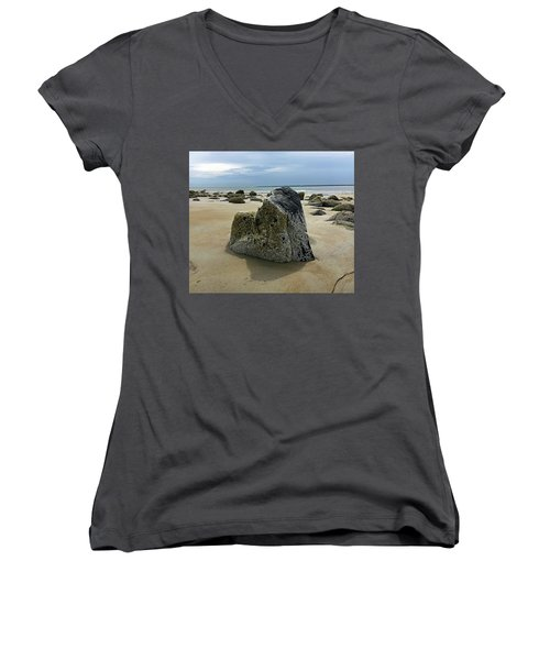 Bar Head Rocks Women's V-Neck (Athletic Fit)