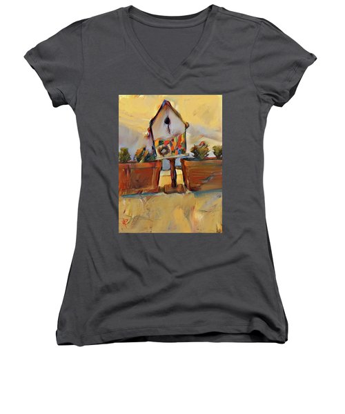 Barb's Bird House Women's V-Neck T-Shirt