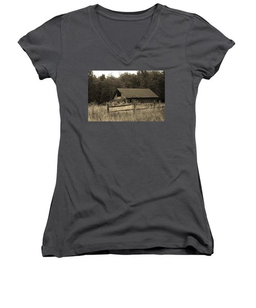 Barn And Fence Women's V-Neck