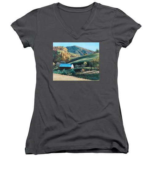 Barn At Blowing Rock Women's V-Neck (Athletic Fit)