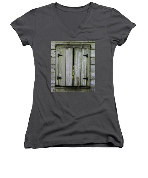 Barn Window, In Color Women's V-Neck