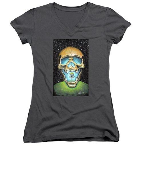 Basket Reaper Women's V-Neck T-Shirt
