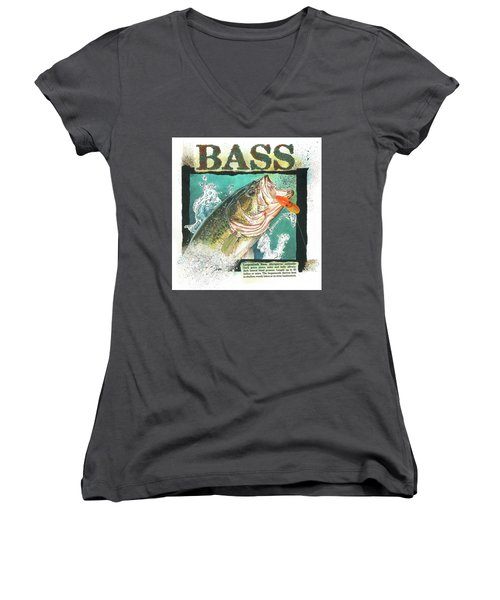 Bass Women's V-Neck (Athletic Fit)
