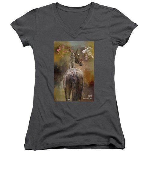 Bath Time Women's V-Neck T-Shirt