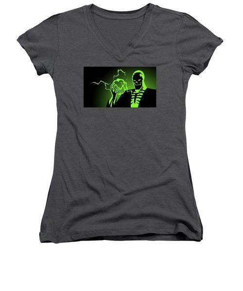 Batman Beyond Women's V-Neck