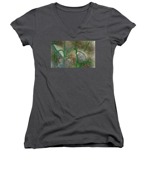 Bay Scallops Women's V-Neck T-Shirt