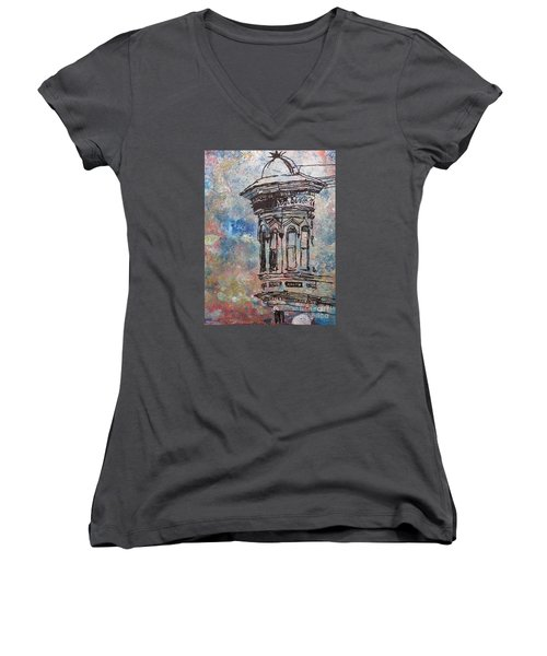 Bay Window Women's V-Neck T-Shirt