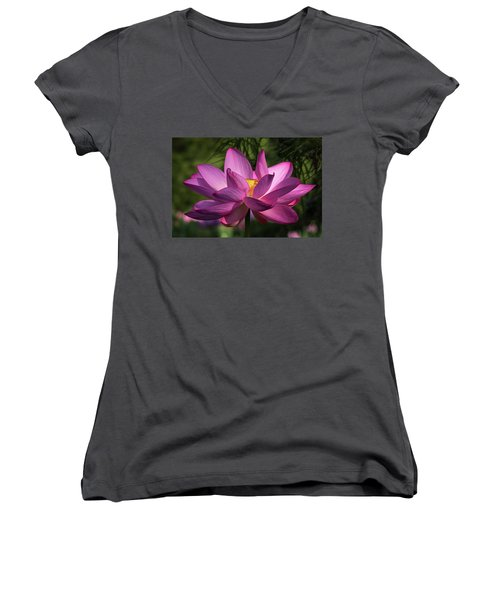 Be Like The Lotus Women's V-Neck
