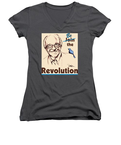 Be The Revolution Women's V-Neck (Athletic Fit)