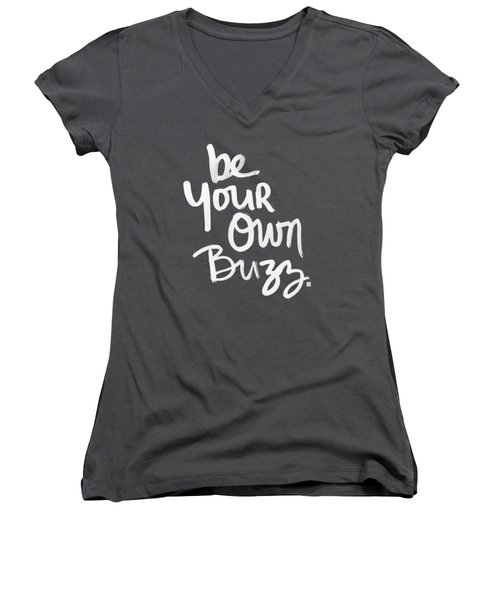 Be Your Own Buzz Women's V-Neck