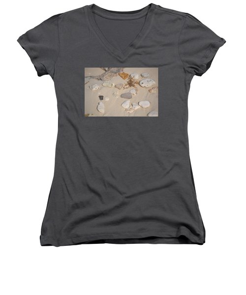 Beach Treasures 2 Women's V-Neck