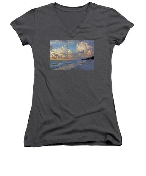 Beach Walk Women's V-Neck T-Shirt