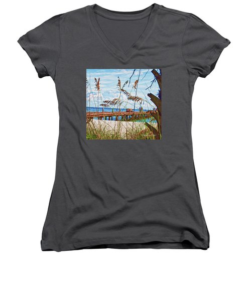 Beach Walk Women's V-Neck