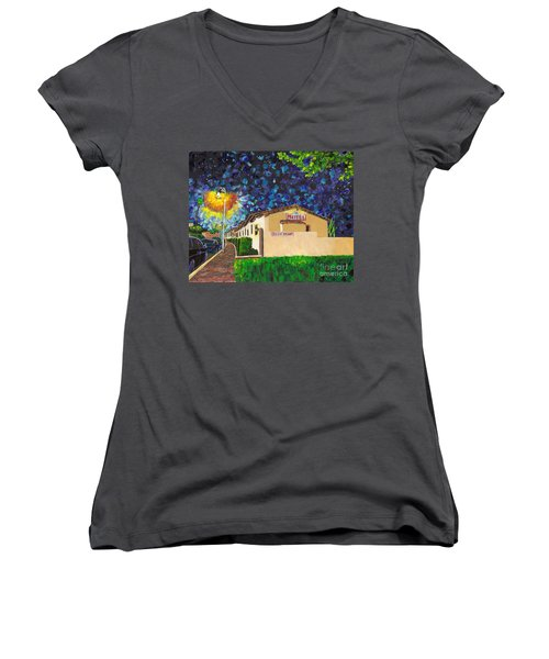 Beachcomber Motel Women's V-Neck