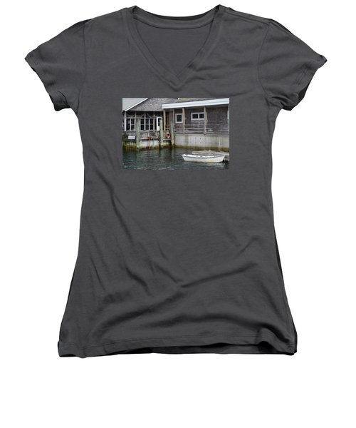 Beals Lobster Pound Women's V-Neck T-Shirt
