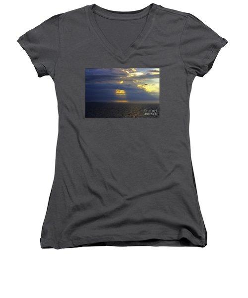 Beam Me Up Women's V-Neck T-Shirt