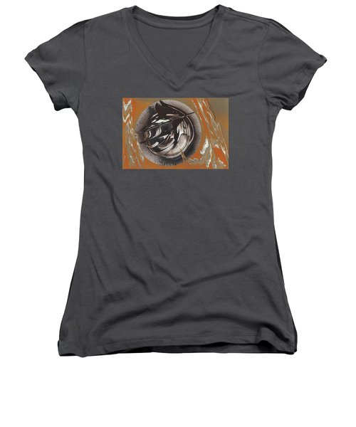 Bearing Women's V-Neck (Athletic Fit)