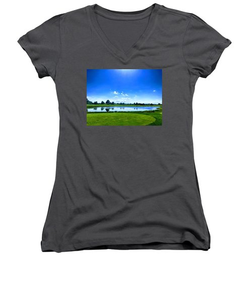 Beautiful Day Women's V-Neck