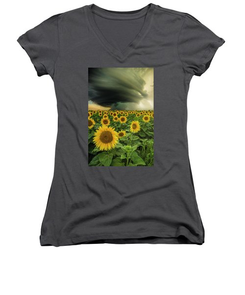 Beautiful Destruction  Women's V-Neck