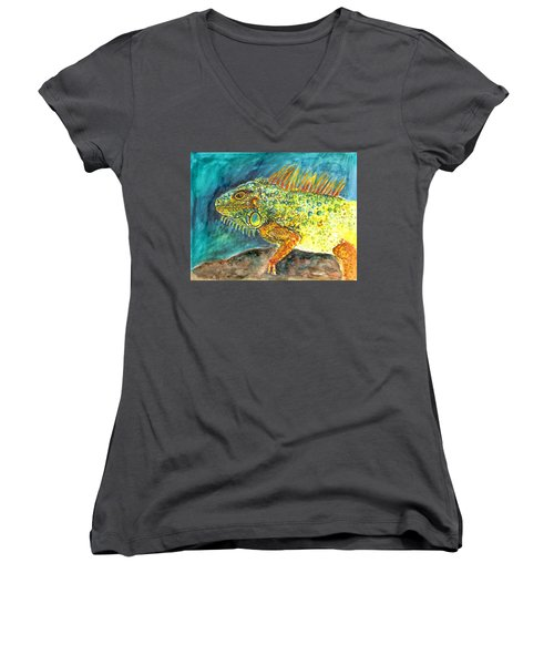 Beautiful Monster Women's V-Neck T-Shirt (Junior Cut)