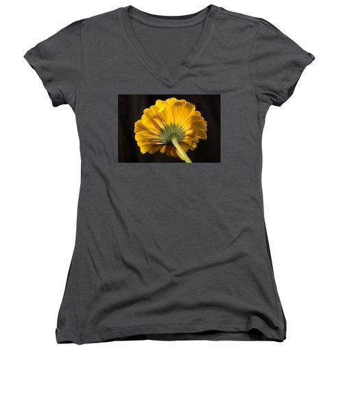 Women's V-Neck T-Shirt (Junior Cut) featuring the photograph Beautiful Underside by Jeff Swan