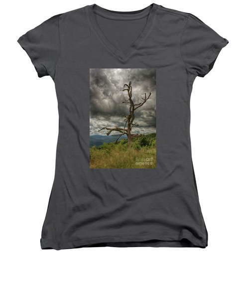Beautifully Dead Women's V-Neck (Athletic Fit)