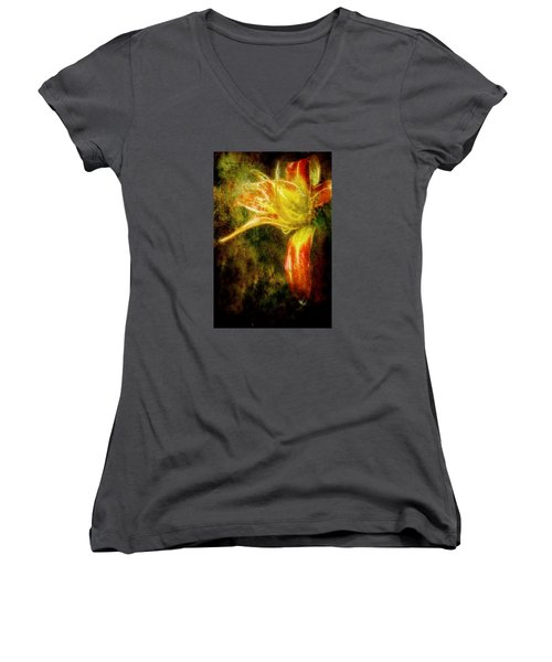 Beauty In The Darkness Women's V-Neck