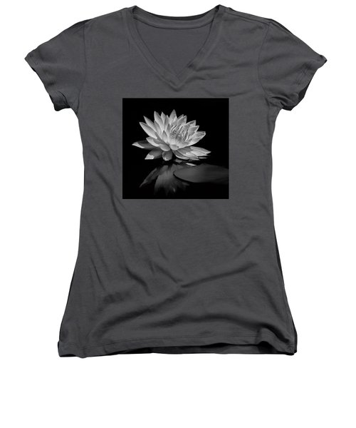 Beauty Of The Pond Women's V-Neck (Athletic Fit)