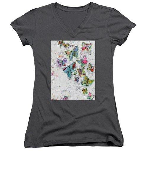 Becoming Free Women's V-Neck T-Shirt