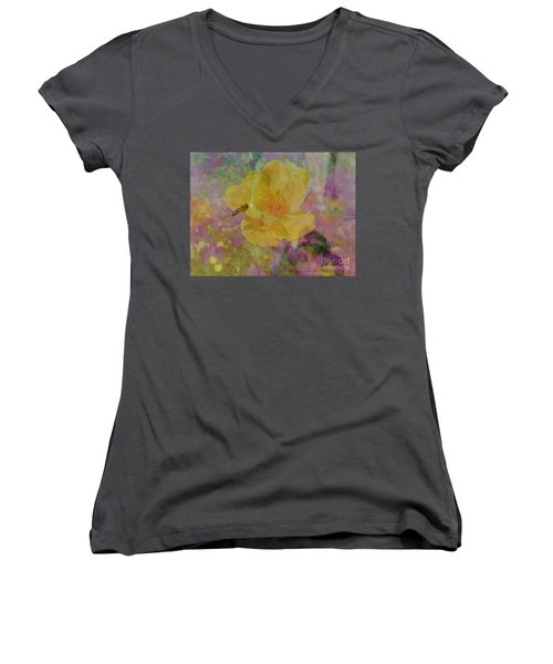 Bee Good Or Bee Careful Women's V-Neck