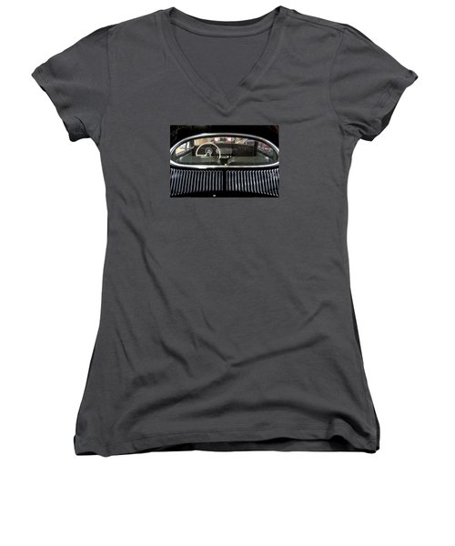 Beetle Interior  Women's V-Neck (Athletic Fit)