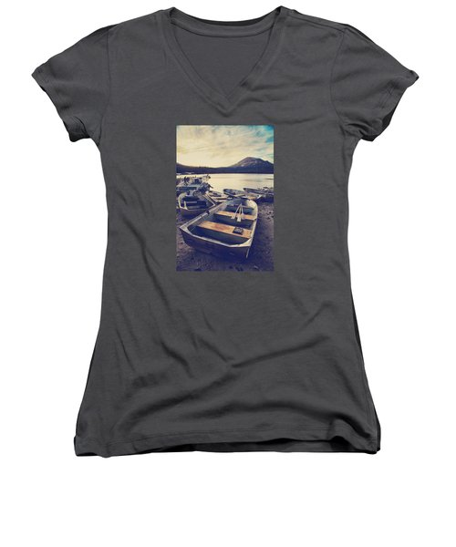 Before Another Day Disappears Women's V-Neck