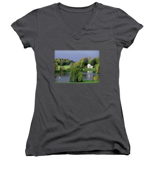 Before The Storm Women's V-Neck T-Shirt