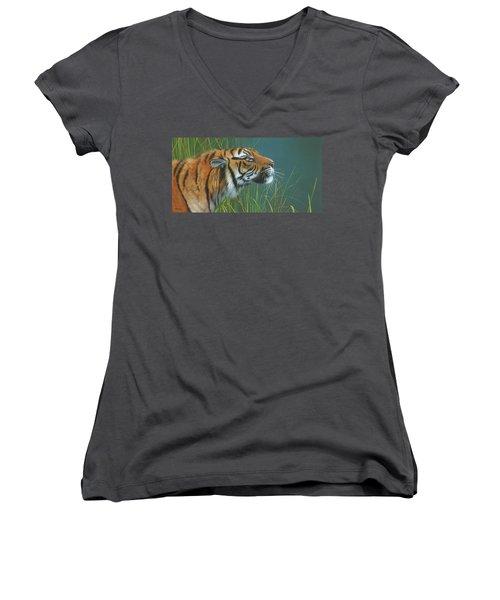 Beggars Day Women's V-Neck T-Shirt (Junior Cut)