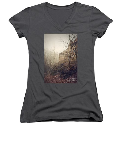 Behind Ancient Walls Women's V-Neck T-Shirt
