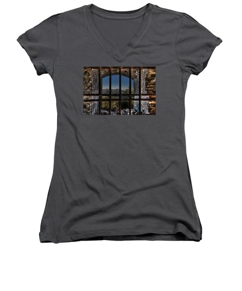 Behind Bars - Dietro Le Sbarre Women's V-Neck