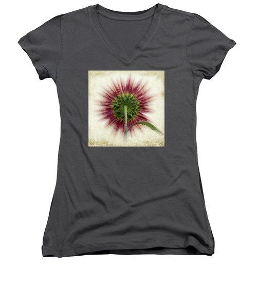 Behind The Sunflower Women's V-Neck
