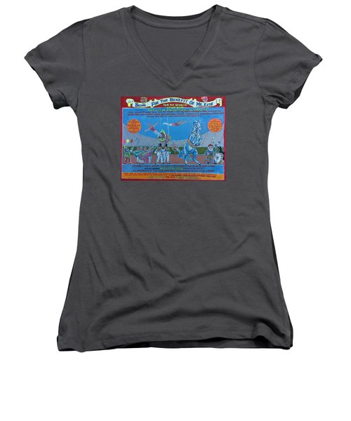 Being For The Benefit Of Mr. Kite Women's V-Neck T-Shirt