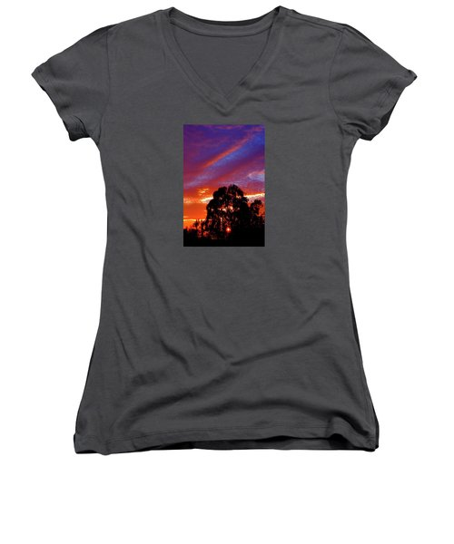 Being There Women's V-Neck (Athletic Fit)