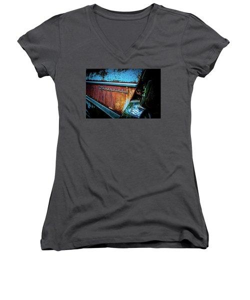 Bel Air Flair Women's V-Neck T-Shirt